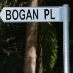 Wahroonga residents got fed up with the Bogan title and now live on Rainforest Close