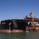 Iron ore loading at Port Hedland. Picture: Mogens Johansen